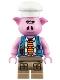 Minifig No: mk011  Name: Pigsy - Blue Vest