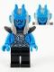 Minifig No: mk025  Name: Silver Horn Demon