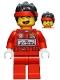 Minifig No: mk045  Name: Monkie Kid - Racing Suit