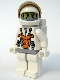 Minifig No: mm013  Name: Mars Mission Astronaut with Helmet, Balaclava and Backpack