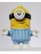 Minifig No: mnn001  Name: Minion Stuart - Bright Light Blue Jumpsuit