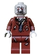 Minifig No: mof018  Name: Zombie, Reddish Brown Suit