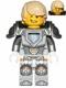 Minifig No: nex037  Name: Lance - Hair, Flat Silver Armor