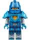 Minifig No: nex039b  Name: Nexo Knight Soldier - Dark Azure Armor, Blue Helmet with Eye Slit, Dark Azure Hands