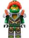 Minifig No: nex068  Name: Aaron - Trans-Neon Orange Visor