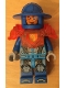 Minifig No: nex109  Name: Royal Soldier / Guard - Trans-Neon Orange Armor, Disc on Back