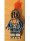 Minifig No: nex110  Name: Nexo Knight Soldier - Gray Helmet, No Armor