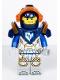 Minifig No: nex117  Name: Clay, Dark Blue Armor