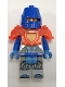 Minifig No: nex122  Name: King's Guard - Trans-Neon Orange Breastplate