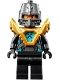Minifig No: nex135  Name: Robin - Pearl Gold Armor