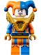 Minifig No: nex138  Name: Jestro - Orange and Blue