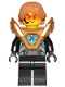 Minifig No: nex139  Name: Robin - Pearl Gold Armor, Hair