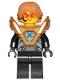 Minifig No: nex139  Name: Robin - Pearl Gold Armor, Hair
