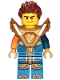 Minifig No: nex147  Name: Clay - Armor, Hair