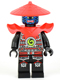Minifig No: njo077  Name: Swordsman - Blue Face Markings