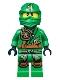 Minifig No: njo129  Name: Lloyd (Jungle Robe) - Tournament of Elements