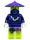 Minifig No: njo141  Name: Ghost Warrior Cowler / Pyrrhus / Cyrus
