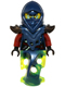 Minifig No: njo174  Name: Blade Master Bansha (Ghost Lower Body)