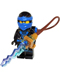 Minifig No: njo184  Name: Jay (Deepstone Armor) - Possession, Lightning Pack without Sticker
