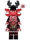 Minifig No: njo223  Name: General Kozu - Black