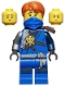 Minifig No: njo224  Name: Jay (Honor Robe) - Day of the Departed, Hair and Blue Mask
