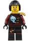 Minifig No: njo245  Name: Nya - Skybound, Black Bob Cut Hair