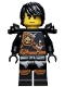 Minifig No: njo250  Name: Cole - Knee Pads, Armor, Hair