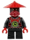 Minifig No: njo264  Name: Scout - Dark Red Face Markings, Bandana, Neck Bracket