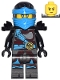 Minifig No: njo279  Name: Nya - Hands of Time, Black Shoulder, Dual Sided Head