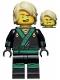 Minifig No: njo311  Name: Lloyd - The LEGO Ninjago Movie, Hair