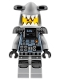 Minifig No: njo353  Name: Hammer Head - Black Beard, Large Knee Plates