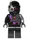 Minifig No: njo375  Name: Nindroid - Black Wrap