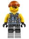 Minifig No: njo380  Name: Shark Army Thug - Tank Top, Large Knee Plates