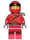 Minifig No: njo391a  Name: Kai - Sons of Garmadon (without Asian Symbol on Wrap)