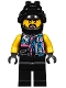 Minifig No: njo414  Name: Sons of Garmadon Biker