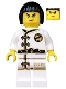 Minifig No: njo430  Name: Nya - White Wu-Cru Training Gi, Black Bob Cut Hair