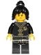Minifig No: njo433  Name: Nya - Black Wu-Cru Training Gi