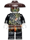 Minifig No: njo488  Name: Dragon Hunter with Dark Brown Hat