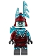 Minifig No: njo528  Name: Blizzard Archer, Trans-Light Blue Horns