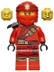 Minifig No: njo531  Name: Kai - Secrets of the Forbidden Spinjitzu, Pouches