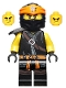 Minifig No: njo532  Name: Cole - Secrets of the Forbidden Spinjitzu
