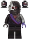 Minifig No: njo577  Name: Nindroid Warrior, Dual Sided Head - Legacy