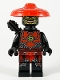 Minifig No: njo580  Name: Stone Army Scout, Yellow Face, Black Quiver