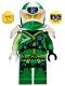 Minifig No: njo583  Name: Lloyd - Digi Lloyd, Armor Shoulder, Lopsided Grin Further Right