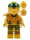 Minifig No: njo584  Name: Lloyd (Golden Ninja), Right Shoulder Armor - Legacy
