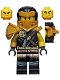 Minifig No: njo606  Name: Hero Cole - Clip on Back