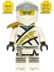 Minifig No: njo616  Name: Zane - Legacy, Pearl Gold Armor Shoulder Pad