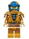 Minifig No: njo634  Name: Jay - Legacy, Pearl Gold Robe