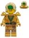 Minifig No: njo640  Name: Lloyd (Golden Ninja) - Legacy, Hair