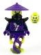 Minifig No: njo646  Name: Ghost - Legacy, Shoulder Armor, Conical Hat, Skull Face